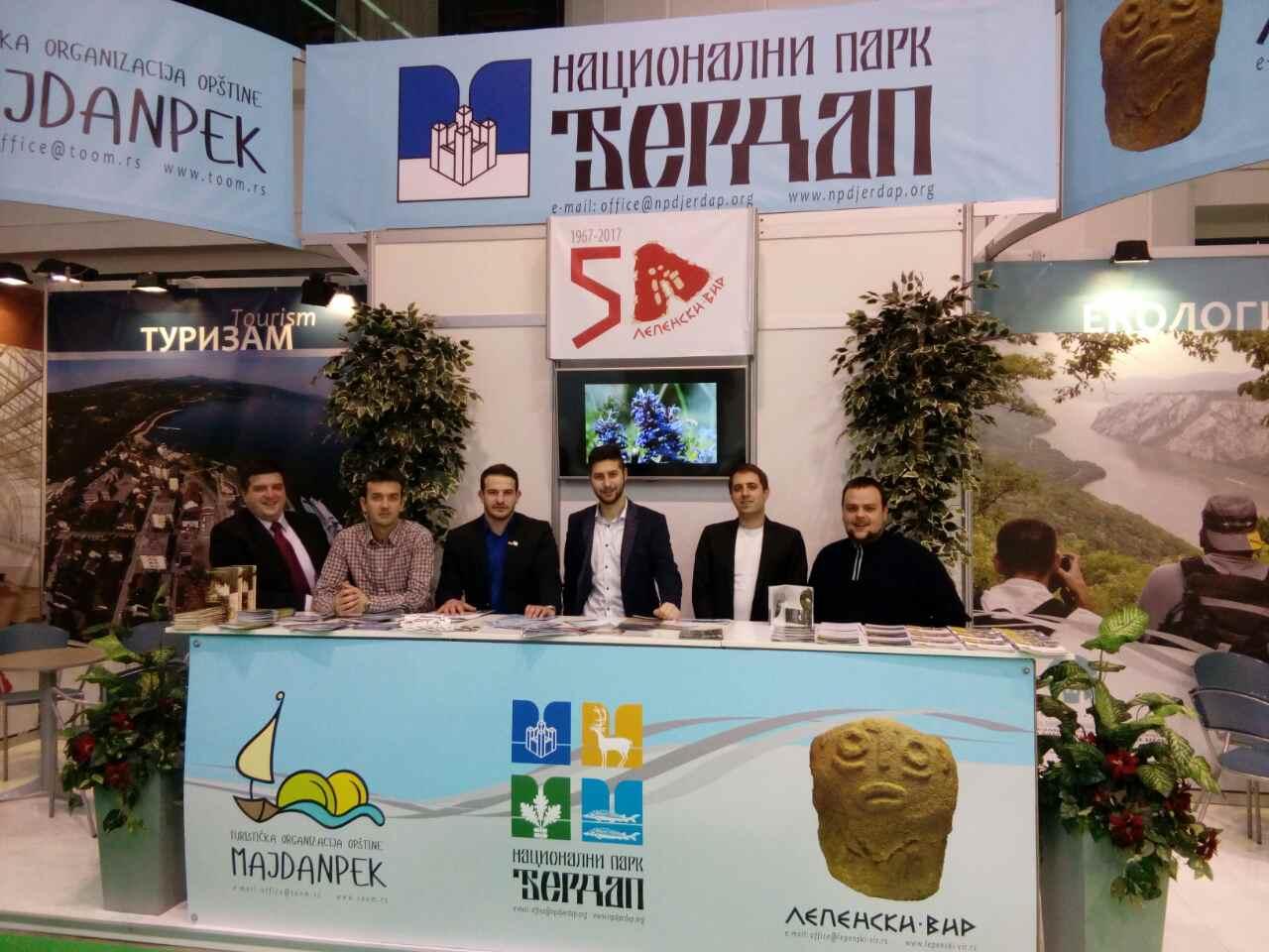 Nacionalni park Đerdap na 39. Međunarodnom sajmu turizma u Beogradu